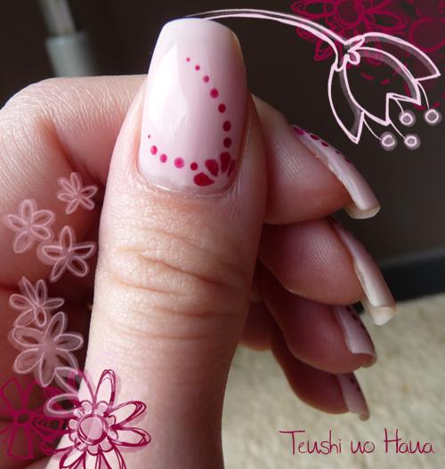 déco dot fleur rose 9