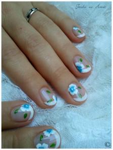 déco aline fleurs bleues 6