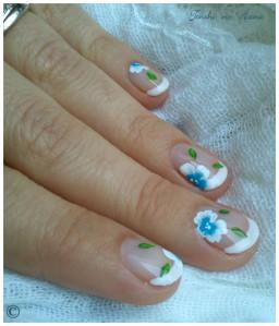 déco aline fleurs bleues 7