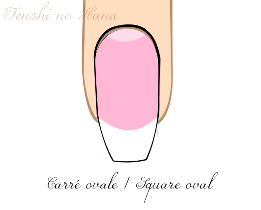 Cr dit tenshi no hana - Forme d ongle ...