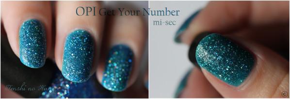 OPI Get your number mi sec