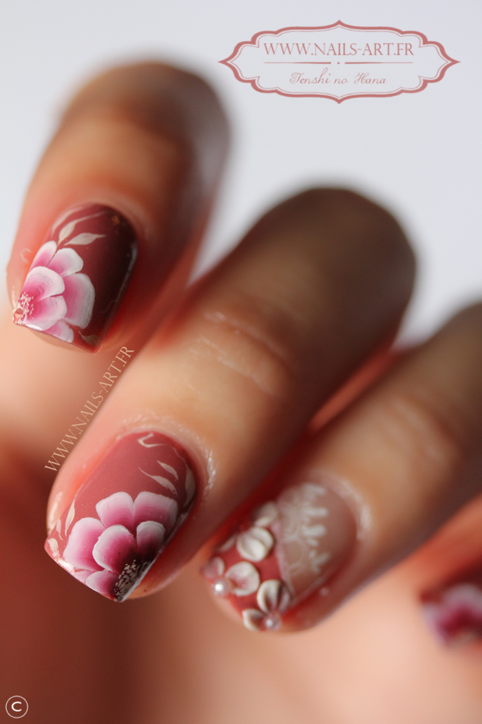 deco ongles peinture acrylique
