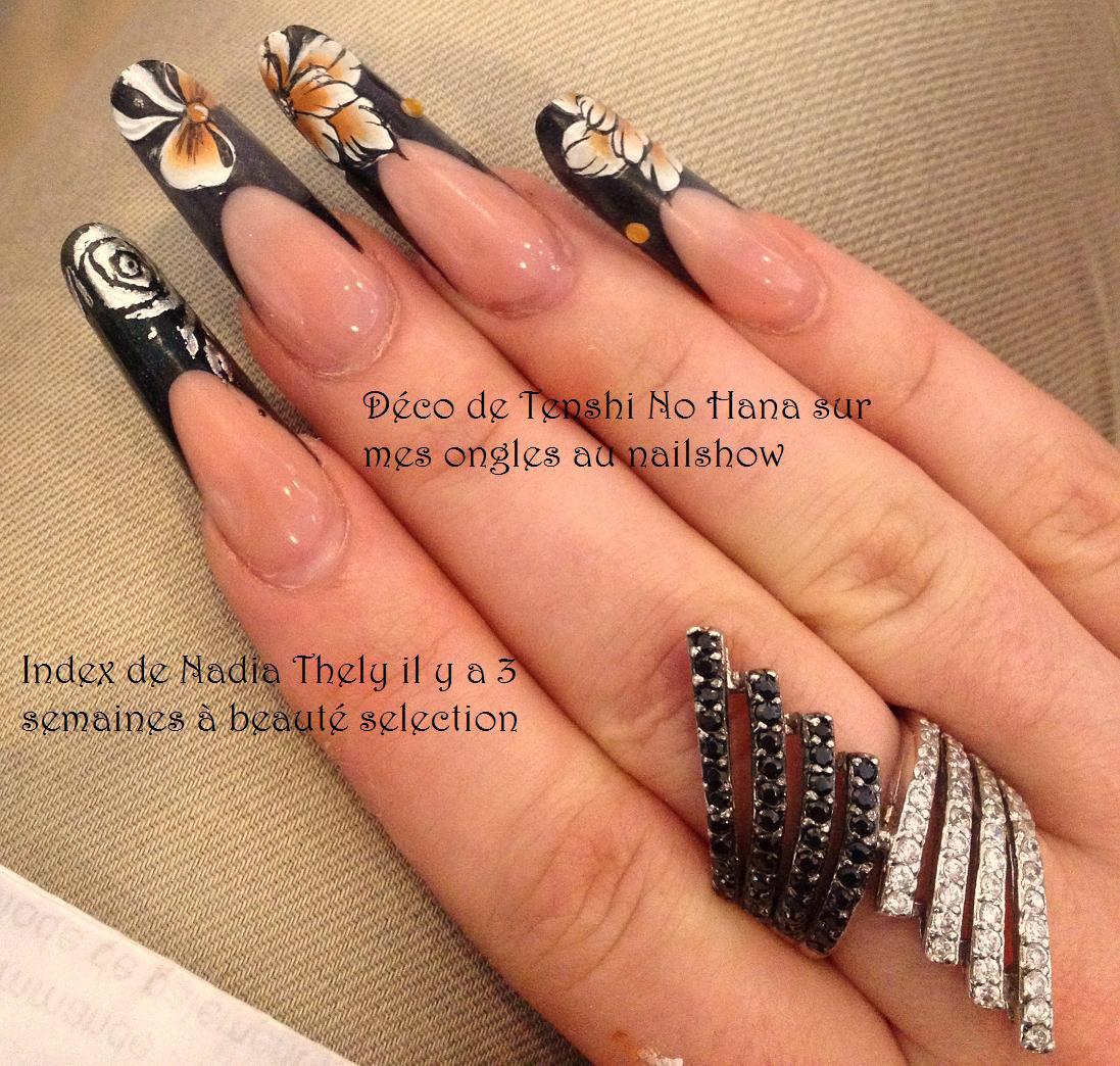 nail show tarascon 2013 et mon nail art pour le concours sur ongles naturels nature nails. Black Bedroom Furniture Sets. Home Design Ideas