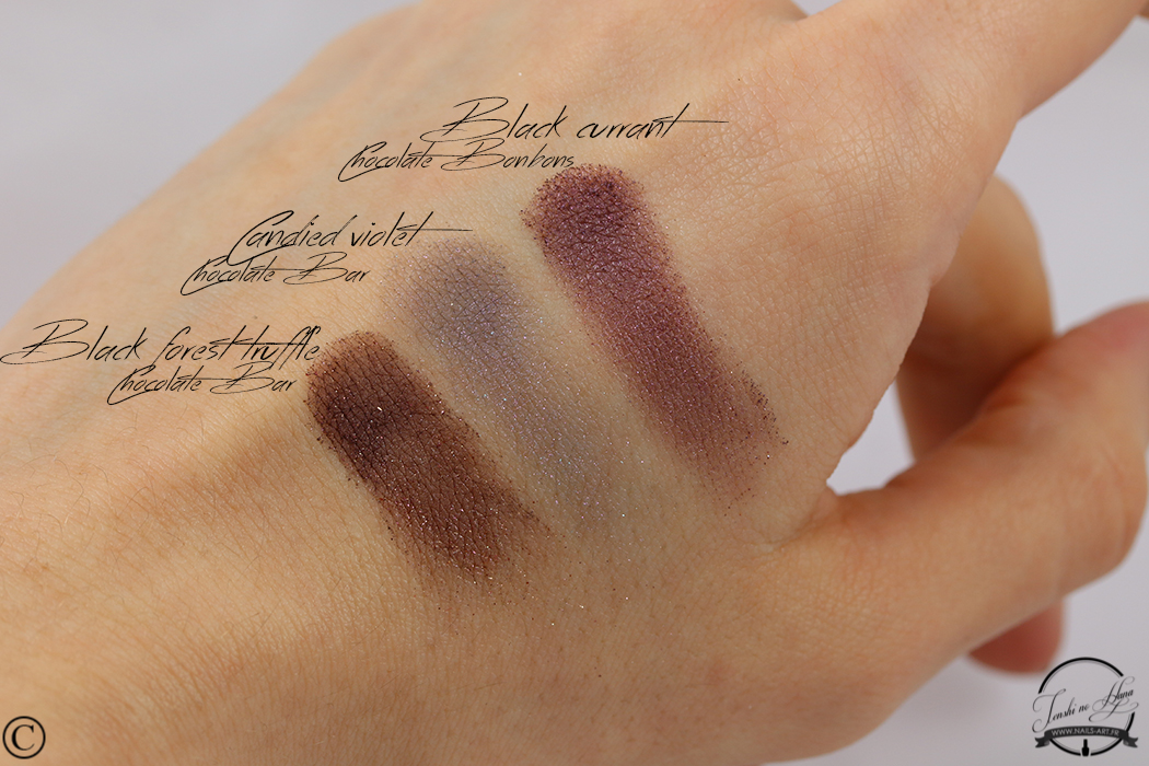 chocolate bonbons swatches 02